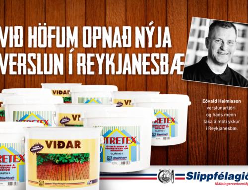 Slippfélagið opnar í Reykjanesbæ!